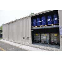 Shelf Type Walk In Explosion Proof Container For Chemical Waste Temporary Storage