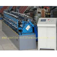 Professional Stud And Track Roll Forming Machine With Hydraulic Hole Punching Automatic Control Siemens PLC Manufactures