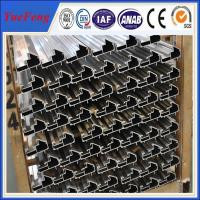 CNC/drilling/bended/OEM extruded aluminum profiles prices,aluminium profile system Manufactures