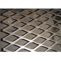 China Flattened expanded metal mesh with 4x8 feet size for screening on sale