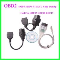 SMPS MPPS V12 ECU Chip Tuning Tool For EDC15 EDC16 EDC17 Manufactures