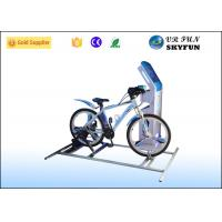 Fashion 9D VR Bike Virtual Reality Motion Simulator For Indoor Amusement Park Manufactures