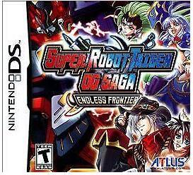 Super Robot Taisen OG Saga DS game for DS/DSI/DSXL/3DS Game Console