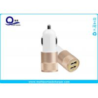 Mobile Phone Dual Port USB Car Charger adapter / iPhone 7 Samsung Xiaomi Usb Phone Charger Manufactures