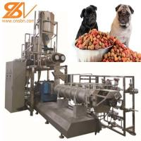 China 2-3t/H  Pet Food Processing Line Extruder Machine Saibainuo Dry For Dog / Cat / Fish on sale