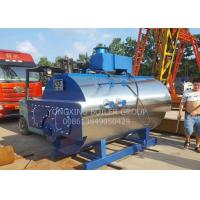 Horizontal Natural Gas Fired Steam Boiler With Interlock Alarm Protection