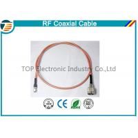 Brass Antenna Jump Pigtail RF Coaxial Cable with TNC Connector Manufactures
