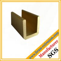 C38500 CuZn39Pb3  CuZn39Pb2 CW612N C37700 zinc copper alloy brass profiles of U channel hardware Manufactures