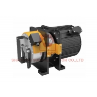 China Load 400kg With Elevator Axle Brake PM Gearless Traction Machine on sale