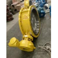 Electric Actuator WCB Material Eccentric Butterfly Valve DN800 PN16 Manufactures