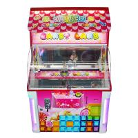 China Kids Prize Cube Claw Machine Coin Operated  Sugar Digger 140 Watt Power on sale