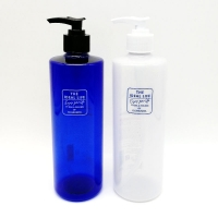 China 500ML Decorative Plastic PET Shampoo Pump Bottle and Hair Conditioner Bottle on sale