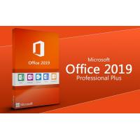 China 100% Original Microsoft Office 2019 Pro Plus Product Key / Office 2019 PP Online Activation on sale