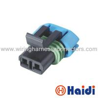 China Female GM Delphi Automotive Wiring Harness Connectors 2 Pin Wire Plug 15300027 on sale