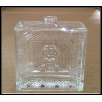 glass spray perfume bottles venetian glass perfume bottles glass perfume square flat bottle Manufactures