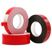 Wholesale double sided white PE foam tape for automobile and decoration for sale