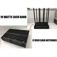 Buy cheap 80 Watts Cell Phone Wifi Blocker 8 Bands Omni - Directional For Wireless Signal Jamming from wholesalers