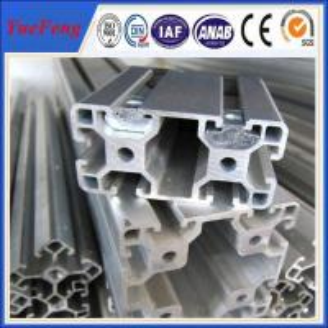 Accessoires en aluminium profil d'assemblage, industrial aluminium profile price per ton Manufactures