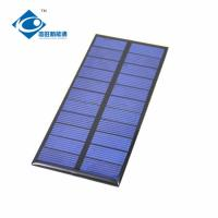 China 11 Battery For Small solar Power Supply 0.9W 5.5V Home Solar Power System ZW-117554 on sale