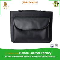 China Portfolio folder/leather portfolio bags mens/leather brief case folder bag on sale