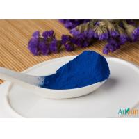 China Excellent Water Soluble Effect and Safe Skye Blue Phycocyanin Powder on sale