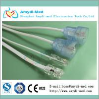 Quality Abbott DPT cable ,Abbott disposable pressure transducer cable ,35mm,PVC flat for sale