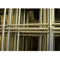 10 X 10 Concrete Reinforcing Welded Wire Mesh Panels 1 M  X 2 M With 10 Gauge Manufactures