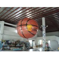 Fireproof Filled Helium Sport basketball Balloons with UV Protected Printing for Promotion Manufactures