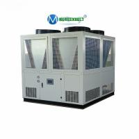 Air Cooled Water Chiller Unit 150kw Cooling Screw Chiller For PET PVC Line Extruder Machine Manufactures