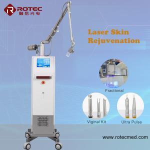 Buy cheap Pore Remover Co2 Laser Skin Resurfacing Machine Rf Tube 30 Watt Privacy from wholesalers