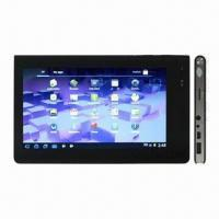 Tablet PCs with Capacitive Touch, 1.3-megapixel Camera, Measuring 189 x 116 x 11.8mm Manufactures