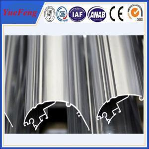 industrial extrusion aluminium profile, OEM anodized aluminum extrusion profile Manufactures