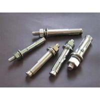 Galvanized Metal Anchor Bolts , Sleeve Wedge Anchors For Concrete Block Manufactures