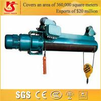 Crane hometown remote control double speed cheap wire rope electric hoist price Manufactures