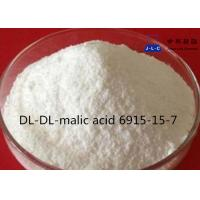 white Powder Synthetic Food Additives DL-Malic Acid CAS 6915-15-7 99% Food Grade Manufactures