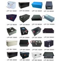 China lithium iron phosphate battery, lithium ion battery manufacturers Deep Cycles High Energy on sale