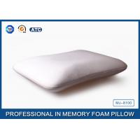 Polyurethane Bamboo Traditional Memory Foam Pillow Neck Support During Sleeping Manufactures