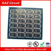 4 layers 1.6mm FR4 1oz ENIG Electronic Printed Circuit Board with BGA Manufactures