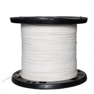 MM SM Fiber Optic Drop Cable Easy Separating Excellent  Bending Resistance Manufactures