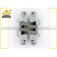 Meta Zinc Alloy 180 Degree Soss Invisible Entry Door Hinges Hardware Manufactures