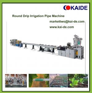 China Round Drip Irrigation Pipe Making Machine 6mm,12mm,16mm,20mm on sale
