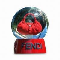 8 x 10cm Snow Globe with Hand Painting, Suitable for Promotion or Giveaway, OEM Orders are Welcome Manufactures