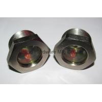 NPT pipe threads 1-1/4 inch nickel plated steel fused indicators for refrigeration equipments Manufactures