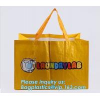 Pp Shopping Tote Fabric Custom Logo Polypropylene Customized Foldable Laminated Non Woven Bag,Promotional Price Recyclab Manufactures