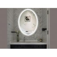 Fashion Smart LED Bathroom Mirror Anti Fog Oval Lighted Bathroom Mirror Manufactures