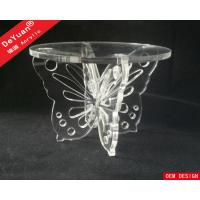 China Sigle Weddings Decoration Tiered Cupcake Stands Perspex Display Stands on sale