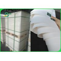 China 60gsm White Kraft Paper Roll FDA Food Packaging With Strong Bursting Resistance on sale