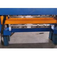 PLC Trapezoidal Metal Roofing Sheet Roll Forming Machine Big Production Capacity Manufactures