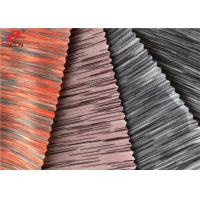 Melange Weft Knitted Fabric Yarn Dyed 90 Polyester 10 Spandex Jersey Fabric Manufactures
