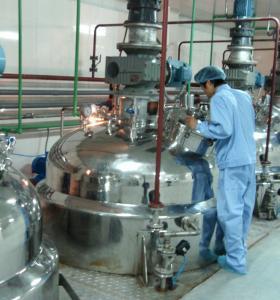 China 1 Ton / Hour Liquid Detergent Manufacturing Plant , Liquid Soap Making Machine on sale